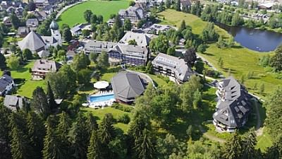 Luftbild Grundstück Parkhotel Adler Hinterzarten - Parkhotel Adler - Hinterzarten