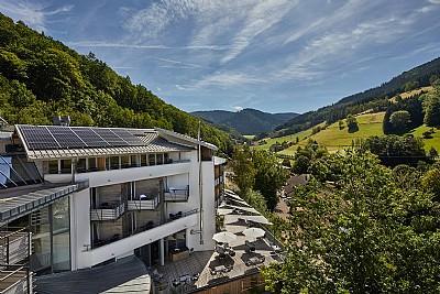 Ausblick ins Tal - ElzLand Hotel Pfauen - Elzach