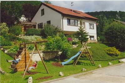Ansicht Ihres Ferienhauses - Haus Felsenblick - Beuron