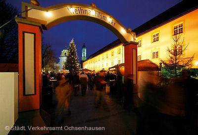 Weihnachtsmarkt in Ochsenhausen.
