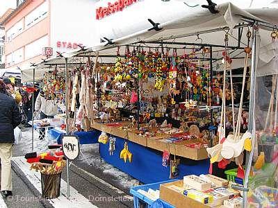 Ostermontagsmarkt Dornstetten.