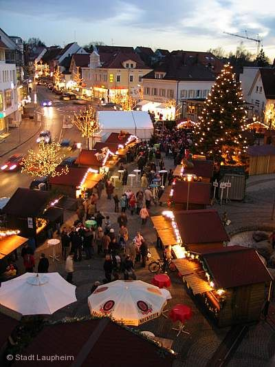 Weihnachtsmarkt Laupheim.