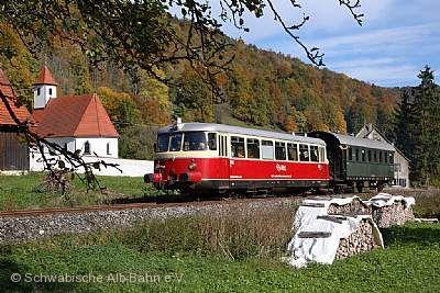 Historischer MAN-Schienenbus. © Array