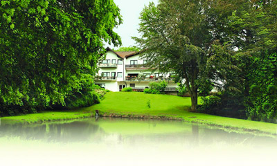 Au�enansicht - Hotel Luisen-M�hle - Bad Arolsen