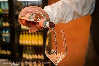 Badische Weinmesse Roséwein