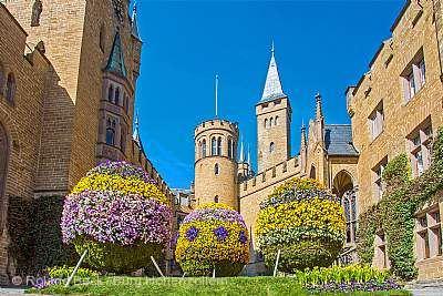 Frühlingserwachen auf Burg Hohenzollern