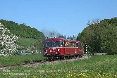 Krebsbachtalbahn im Krebsbachtal