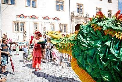 Schloss-Straßen-Fest Göppingen, Drache