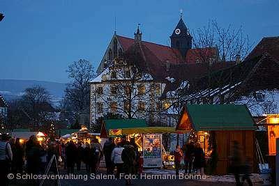 Weihnachtsmarkt Schloss Salem