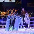 Tanz der Pferde zu sinfonischer Livemusik bei den Marbach Classics.