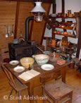 Tisch im Bauländer Heimatmuseum