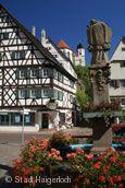 Bolzhaus in der Altstadt © Stadt Haigerloch