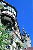 Blick auf Blauer Turm Bad Wimpfen. © Tourist-Information Bad Wimpfen & Gundelsheim