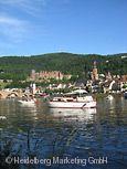 Neckar bei Heidelberg. © Heidelberg Marketing GmbH