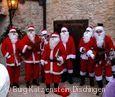 Nikoläuse beim Weihnachtsmarkt Burg Katzenstein.