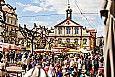 Fr�hlingsmarkt auf dem Marktplatz