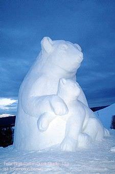 3. Schwarzwälder Schneeskulpturen-Festival