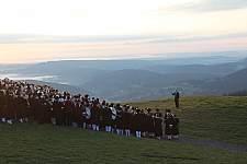 Badnerlied zum Sonnenaufgang. � Hochschwarzwald Tourismus GmbH