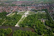 Schloss Schwetzingen Luftaufnahme. © Staatliche Schlösser und Gärten, Foto: Nils Schubert