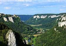 Donaubergland Blick vom Eichfelsen © Donaubergland Marketing und Tourismus GmbH