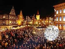 Weihnachtsmarkt in Gengenbach. � Kultur- und Tourismus GmbH, Gengenbach