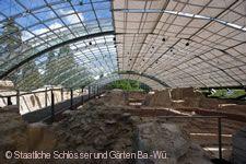 Römische Badruine Badenweiler. Innenansicht