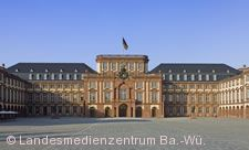Barockschloss Mannheim. Der Ehrenhof