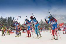Biathlon Weltcup Ruhpolding