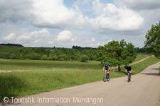 Fahrradfahrer TrÜP