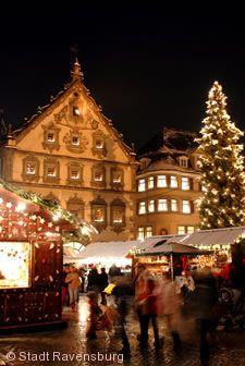 Christkindlesmarkt Ravensburg.