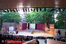 Bühne der Festspiele Breisach