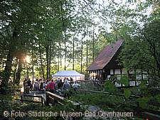 Sommernachtstraum an der Mühle