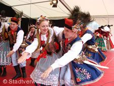 Folkore-Festival in Bitburg.