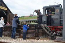 Museumsbahn am Kohlenbahnsen