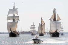 Hanse Sail Rostock.