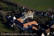 Kloster Heiligkreuztal. Luftaufnahme