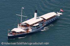 """Dampfschiff """"Hohentwiel"""""""