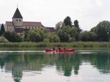 Kanutour auf dem Bodensee.