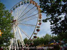 Riesenrad auf dem Kirschenmarkt
