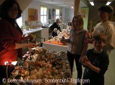 Ostereier-Künstlermarkt