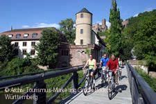 Radler bei Wertheim