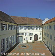 Schloss Kirchheim, der Innenhof