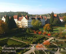 Schloss Salem mit Formengarten.