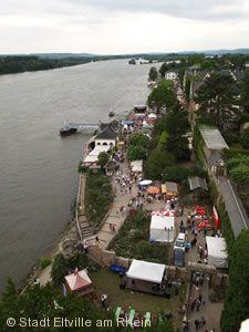 Sekt- und Biedermeierfest, Eltville am Rhein.