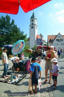 Stadtfest mit Flohmarkt.