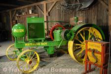 Exponat im Traktormuseum