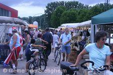 Volksfest Bietigheim - Floh- und Krämermarkt.
