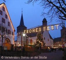 Steinauer Weihnachtsmarkt