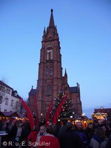 Weihnachtsmarkt Langen (Hessen).
