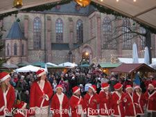 Weihnachtsmarkt.